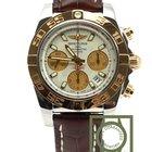 Breitling Chronomat 41 steel gold cb014012 sierra silver 100% NEW