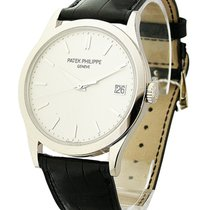 Patek Philippe 5296G-010 Calatrava 5296G in White Gold - on...
