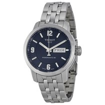 Tissot PRC 200 Powermatic 80 Automatic Blue Dial Stainless...