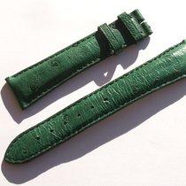 Zenith Strauss Band Armband Grün Green 20 Mm Für Dornschliesse...