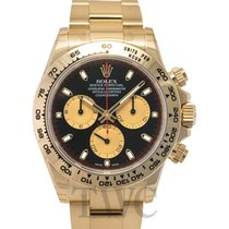 롤렉스 (Rolex) Daytona Black/18k yellow gold Ø40mm - 116508