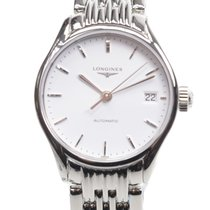 Longines Lyre Stainless Steel White Automatic L4.360.4.12.6