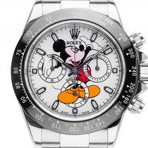Rolex Daytona Custom Mickey Mouse Keramik Black Cosmograph...