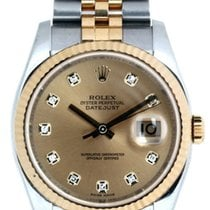 Rolex Datejust 36 Oyster Perpetual Champagne Dial Men's...