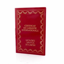 Cartier Vintage Cartier Blank Certificate Watch Warranty Papers