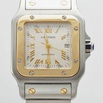 Cartier Santos Galbee 2319 Stahl/Gold Automatik BOX &...