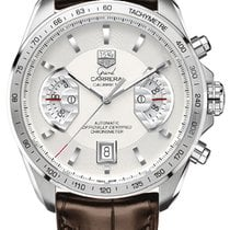 TAG Heuer Grand Carrera Chronograph Calibre Stainless Steel...