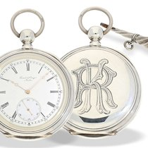 Pocket watch: very fine and large pocket watch chronometer...