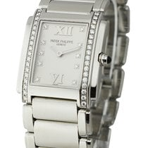 Patek Philippe 4910/10A-011 Ref 4910.10A Twenty-4 in Steel...