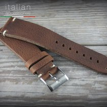 Cinturino pelle vacchetta 22 mm Tabacco LS VACCHETTA Cowhide...