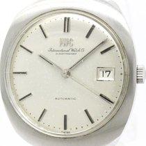 IWC Vintage Iwc Schaffhausen Steel Automatic Mens Watch Head...