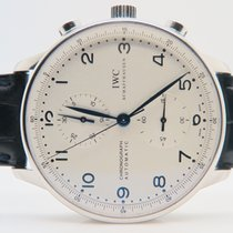 IWC Portuguese Chronograph Blue Index Ref: IW371417 Full Set