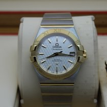 Omega 123.20.35.20.02.006  Constellation Automatic Slv Dial (Yg)