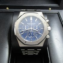 Audemars Piguet Royal Oak Chronograph Stainless Steel/Blue Dial