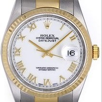 Rolex Datejust Steel & Gold 2-Tone Men's Watch 16233...