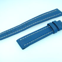 Breitling Band 16mm Neo Blue Azul Stap Correa Ib16-01