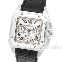 カルティエ (Cartier) Santos 100 Chronograph Stainless Steel 41MM
