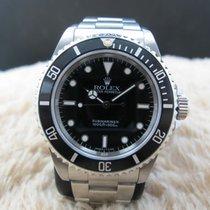 Rolex 1996 ROLEX SUBMARINER (NO DATE) 14060 (T25) WITH BLACK...