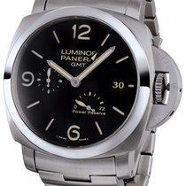 Panerai Luminor 1950 3 Days Black Dial GMT Automatic PAM00347
