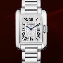 Cartier Tank Anglaise | Steel Sliver Dial Quartz | Ladies