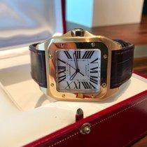 Cartier Santos 100 xl oro