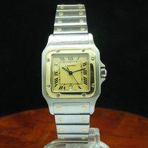 Cartier Santos Galbee 18kt Gold / Edelstahl Unisexuhr / Ref...