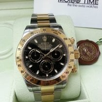 勞力士 (Rolex) Cosmograph Daytona 116523 Gold Steel Black Dial [NEW]