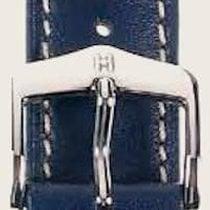 Hirsch Uhrenarmband Heavy Calf blau L 01475080-2-20 20mm