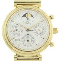 IWC Da Vinci Ewiger Kalender 18ct Gold Chronograph Herren