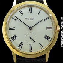 Patek Philippe Ref. 3542 18k Calatrava W/ Original Papers -...