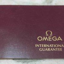 Omega vintage warranty booklet blanc ref. 1121 for speedmaster...