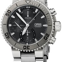 Oris Aquis Titan Chronograph 46mm 01 674 7655 7253-07 8 26 75PEB