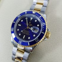 Rolex Submariner Steel & Yellow Gold Blue Dial