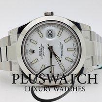 Rolex Datejust II 2 116300  Bianco White Indici  OYSTER   II