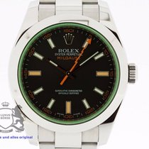 Rolex Milgauss 116400 Box & Swiss Papers from 2009