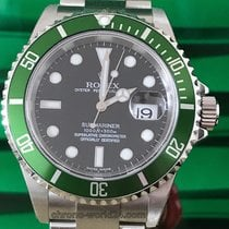 Rolex Submariner Date Ref. 16610 LV Fat Four NOS F3...unworn...