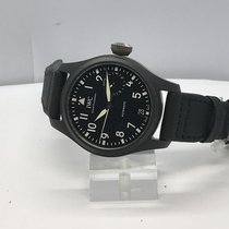 IWC - Big Pilot Top Gun Automatic Black Dial- IW502001 Big...