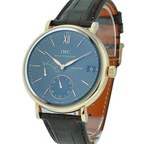 IWC IW510104 Portofino Hand-Wound Eight Days in Rose Gold - on...