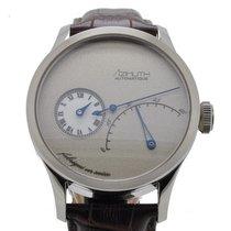 Azimuth Regulateur Retrograde Minutes Frost Grey Watch