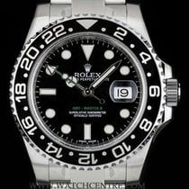 Rolex Stainless Steel O/P Ceramic Bezel GMT-Master II NOS...