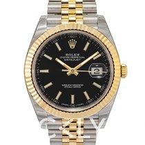 Rolex Datejust 41 Black/18k gold Jubilee 41mm - 126333