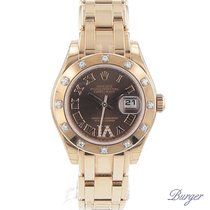 Rolex Datejust Lady Pearlmaster Everose/ Diamonds NEW