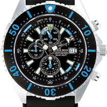 Chris Benz Depthmeter Chronograph 300m CB-C300-B-KBS Herrenchr...
