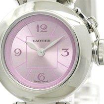 까르띠에 (Cartier) Polished Cartier Miss Pasha Steel Quartz Ladies...