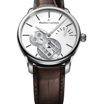 Maurice Lacroix MP7158-SS001-101 Masterpiece Roue Carree Mens...
