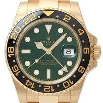 Ρολεξ (Rolex) GMT-Master II Gelbgold 116718 LN LC100 ungetrage...