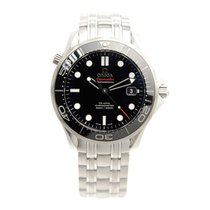 歐米茄 (Omega) Seamaster Stainless Steel Black Automatic 212.30.4...