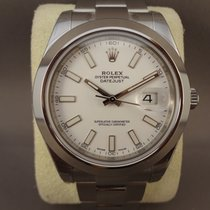 Rolex Datejust II White Dial 116300 / 41mm