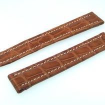 Breitling Band 15mm Croco Braun Brown Marron Strap Für...