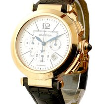 Cartier W3019951 Pasha 42mm Chronograph Automatic in Rose Gold...